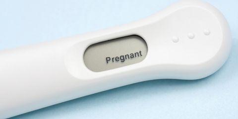positive home pregnancy test