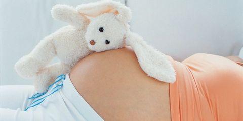 Stuffed toy, Toy, Textile, Plush, Baby toys, Orange, Peach, Fawn, Teddy bear, Baby Products,