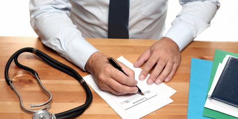 Finger, Dress shirt, Hand, Table, Wrist, Office supplies, Writing implement, Nail, Desk, Cable,