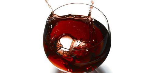 Fluid, Liquid, Glass, Drink, Barware, Stemware, Alcoholic beverage, Drinkware, Red, Tableware,