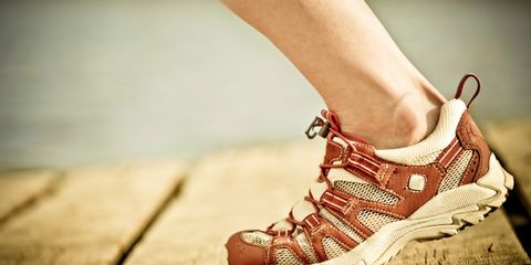 one hour of exercise inferior to all-day activity; woman running