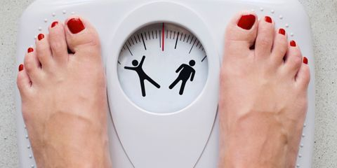the skinny fat scale