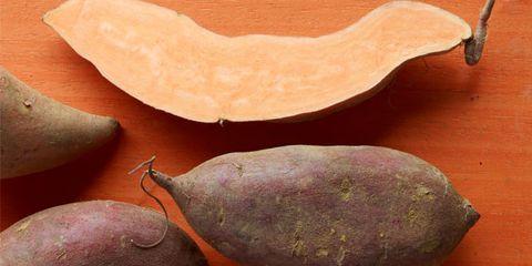 Sweet potato and baked potato nutrition; potatoes