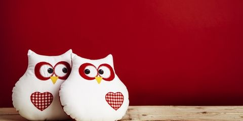 Owl, Wood, Bird, Red, Beak, Light, Pattern, Orange, Carmine, Grey,