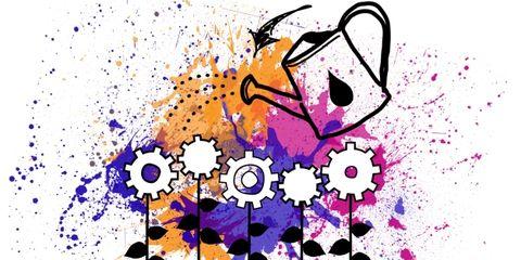 Colorfulness, Purple, Violet, Art, Magenta, Artwork, Graphics, Paint, Illustration, Art paint,
