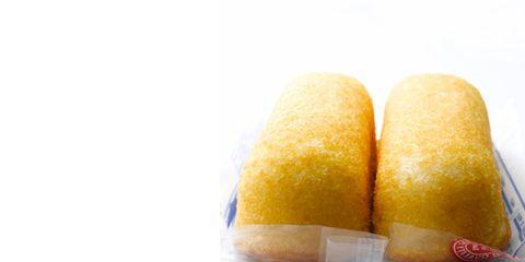 Yellow, Food, Cuisine, Finger food, Snack, Fast food, Baked goods, Twinkie, Dessert, Sweetness,