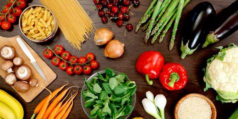 Vegan nutrition, Food, Whole food, Produce, Natural foods, Local food, Vegetable, Ingredient, Food group, Bell pepper,