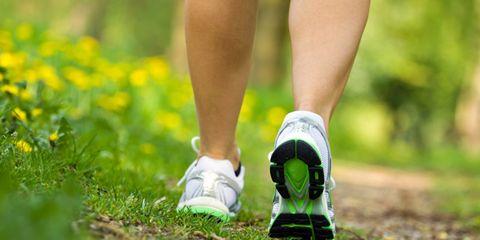 Footwear, Grass, Green, Shoe, Human leg, Joint, Athletic shoe, People in nature, Calf, Running shoe,