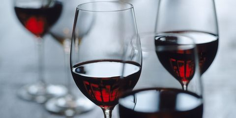 alcohol-related cancer deaths are significant; glasses of wine