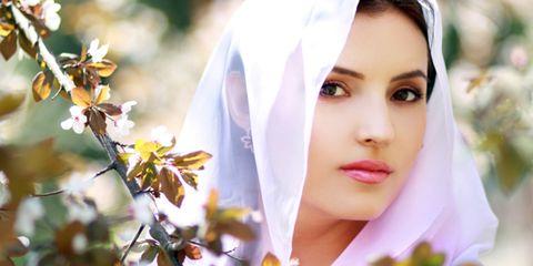 Lip, Skin, Eyebrow, Petal, Photograph, Flower, Beauty, Eyelash, Veil, Headgear,
