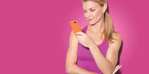 Finger, Elbow, Hand, Mobile phone, Wrist, Portable communications device, Magenta, Blond, Tan, Long hair,