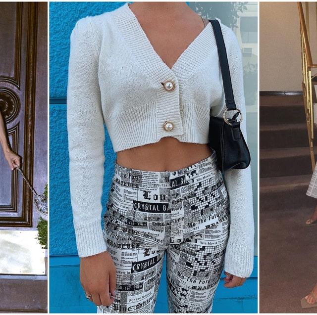 Clothing, White, Crop top, Fashion, Street fashion, Outerwear, Jeans, Top, Shorts, Shirt,