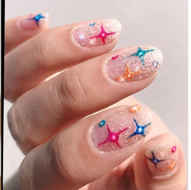 20 New Years Eve Nail Art Designs And Ideas