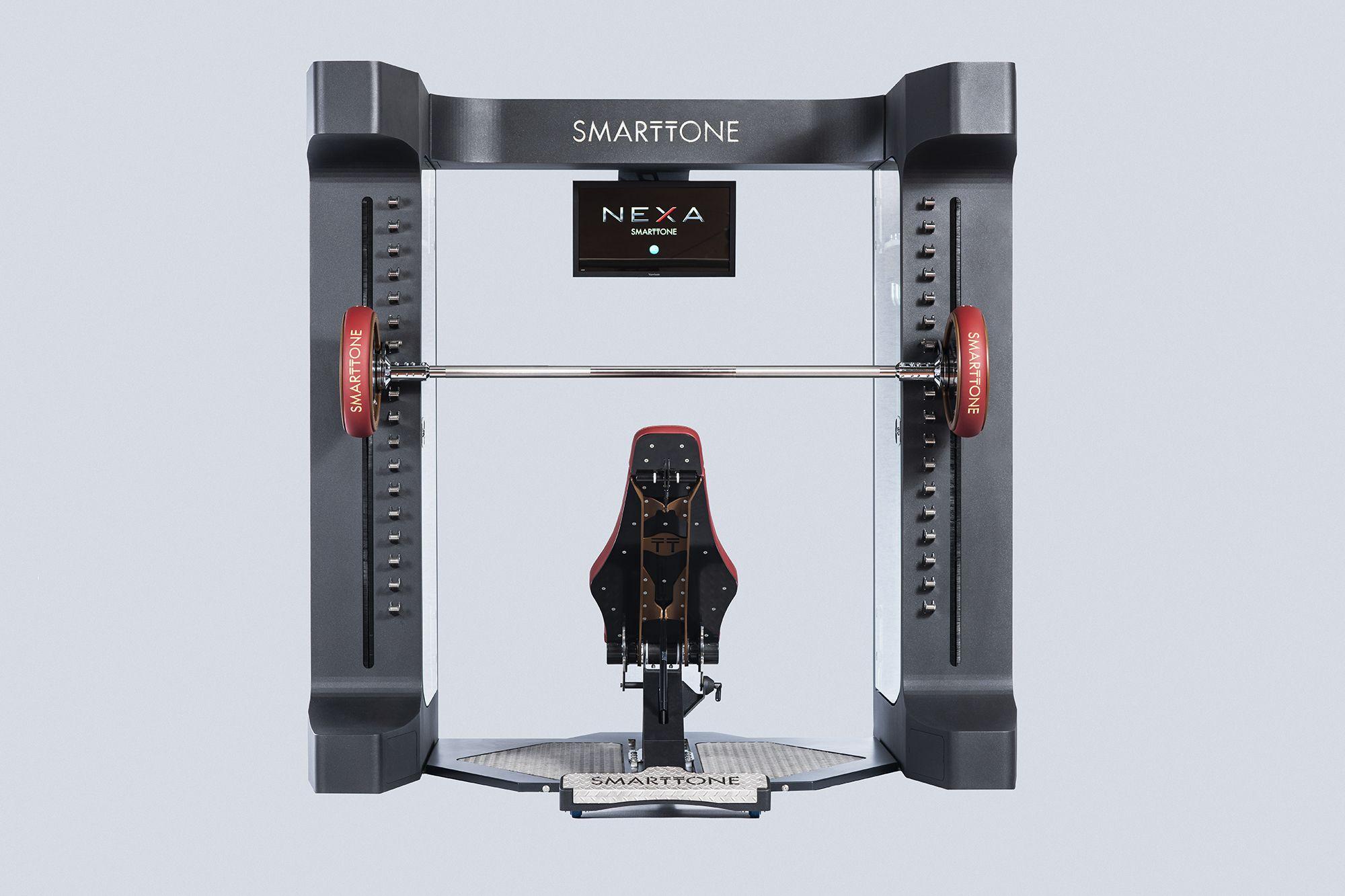 Fitness inteligente: así es Nexa, la máquina multipower que le pedirás al director de tu gimnasio
