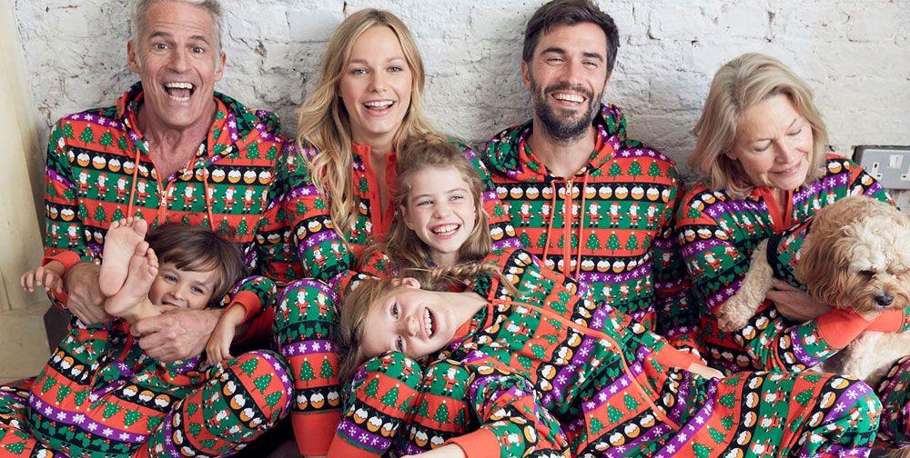 Next family christmas pyjamas
