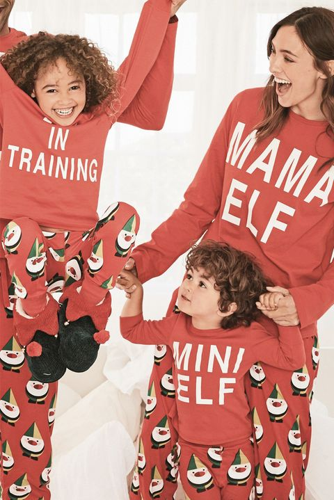 e997ad7dcd Best matching family Christmas pyjamas - Family Christmas pyjama sets