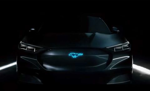 Ford Mustang Hybrid Previewed New Ad Features Bryan Cranston