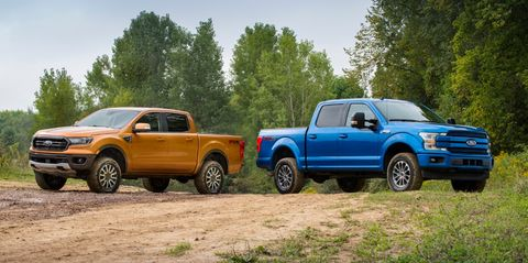 Ford Claims Ranger and F-150 Suspension Kit Improves Off-Road Capability
