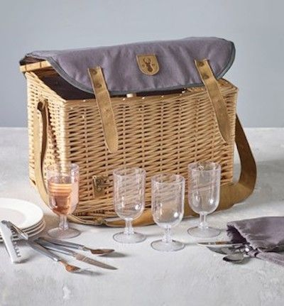 Next four person filled picnic hamper