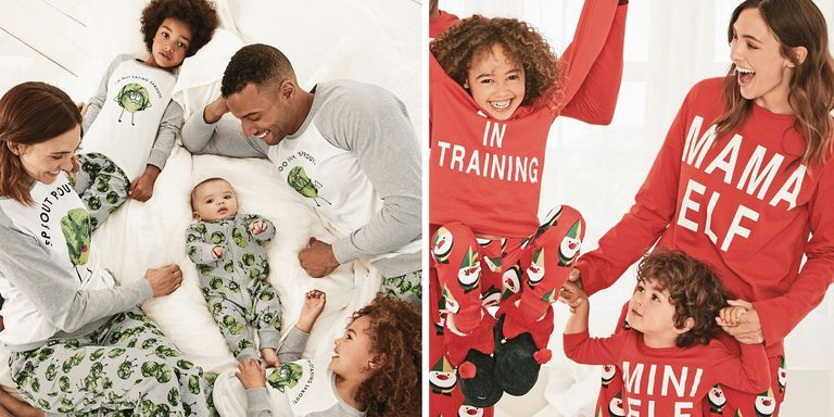 Your entire family can wear matching Christmas PJs thanks to Next