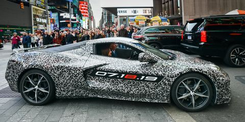 Chevy's Mid-Engine C8 Corvette Prototype Has a Tiny Tribute to Its Godfather
