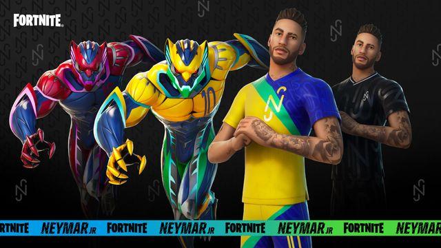 neymar fortnite skin