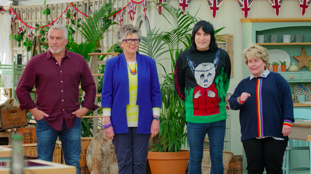 Bake Off fans are obsessed with Noel Fielding's Dinosaur Jr jumper – here's where to buy it