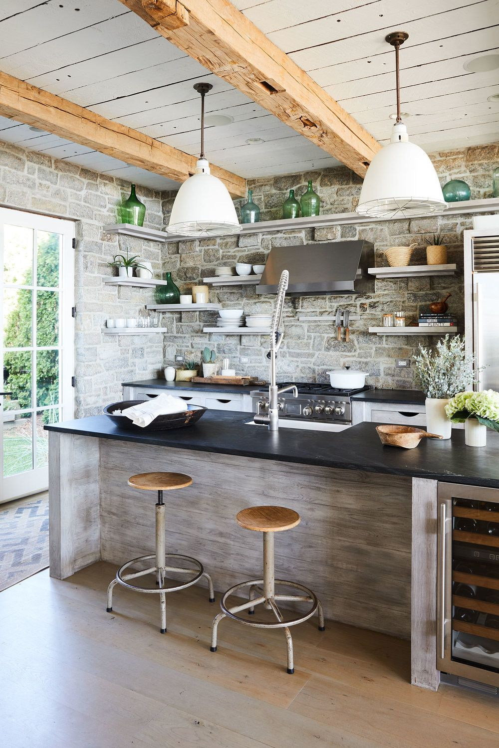 15 best rustic kitchens - modern country rustic kitchen