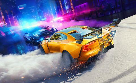 Скриншот игры NFS