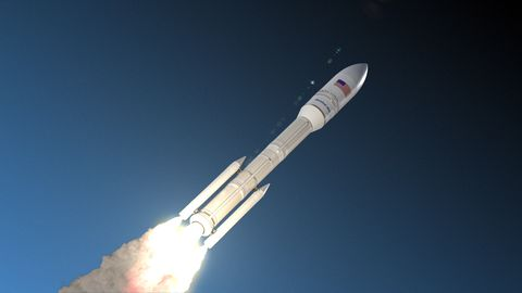 Meet the All-American Omega Rocket, the Next Contender to
