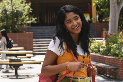 maitreyi ramakrishnan walking on campus