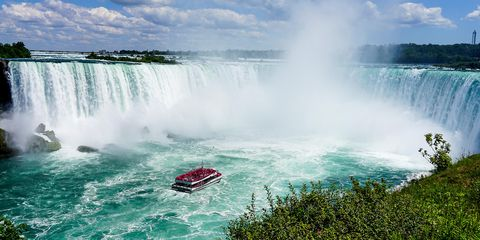 Maid of the Mist boat, Niagra Falls