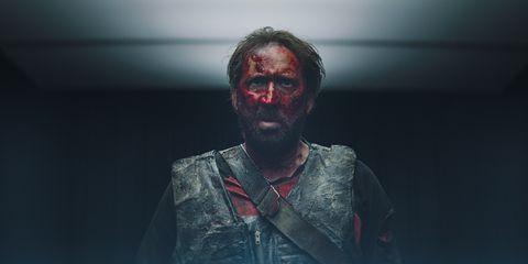 Facial hair, Beard, Human, Mouth, Zombie, Flesh, Darkness, Fictional character, Photography, Performance,