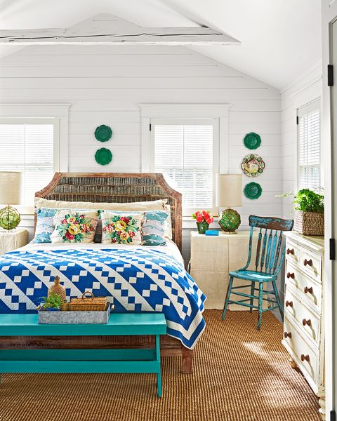 bedroom martha's vineyard beach house tour decorating ideas