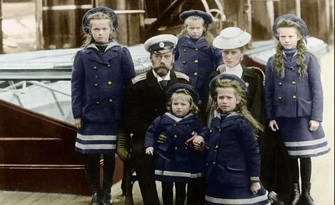 How Prince William and Prince Harry are related to the Romanovs, the last Russian royal family