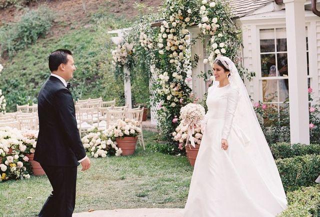ロクシー・ソウラティさんとニコラス・ビジャンさんの結婚式