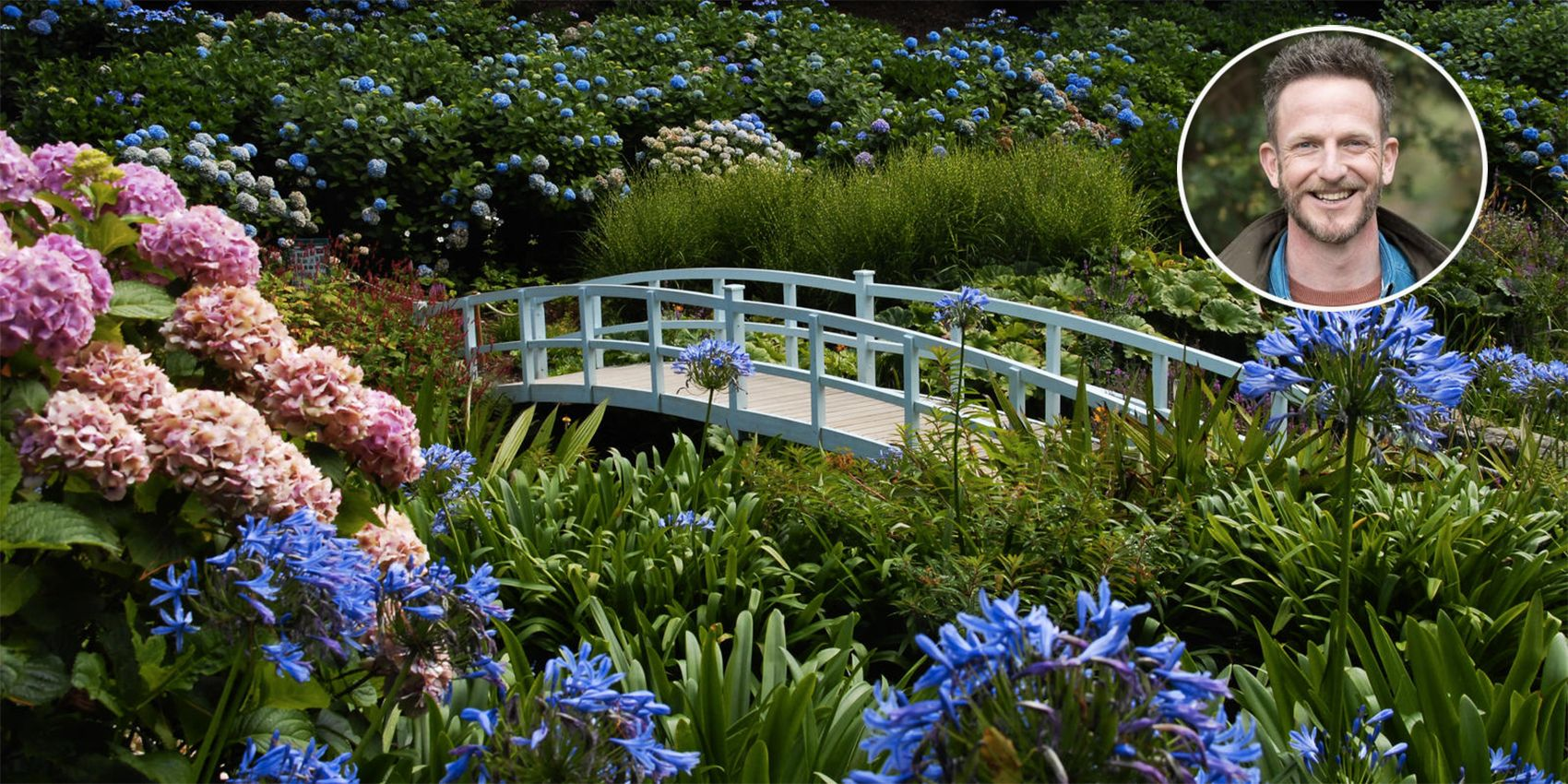 Nick Bailey tour of Cornwall's gardens