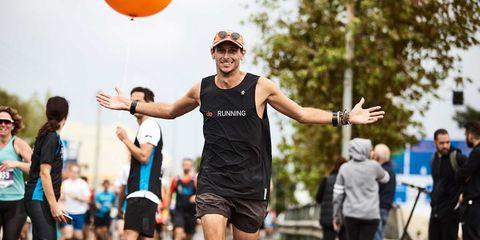Nick Butter runs 196 marathons in 196 countries.