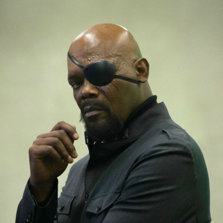 Nick Fury's role as Man on the Wall