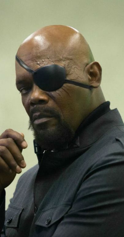 Why Nick Fury had to lose his eye that way in Captain Marvel
