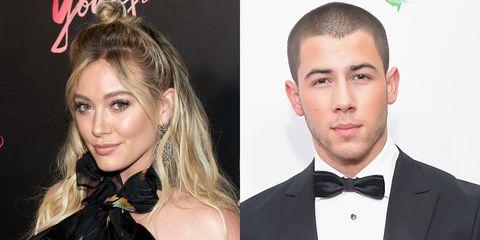 Hilary Duff and Nick Jonas