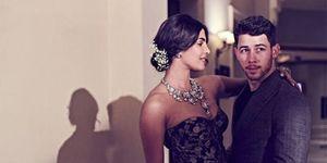 Priyanka Chopra y Nick Jonas en su boda