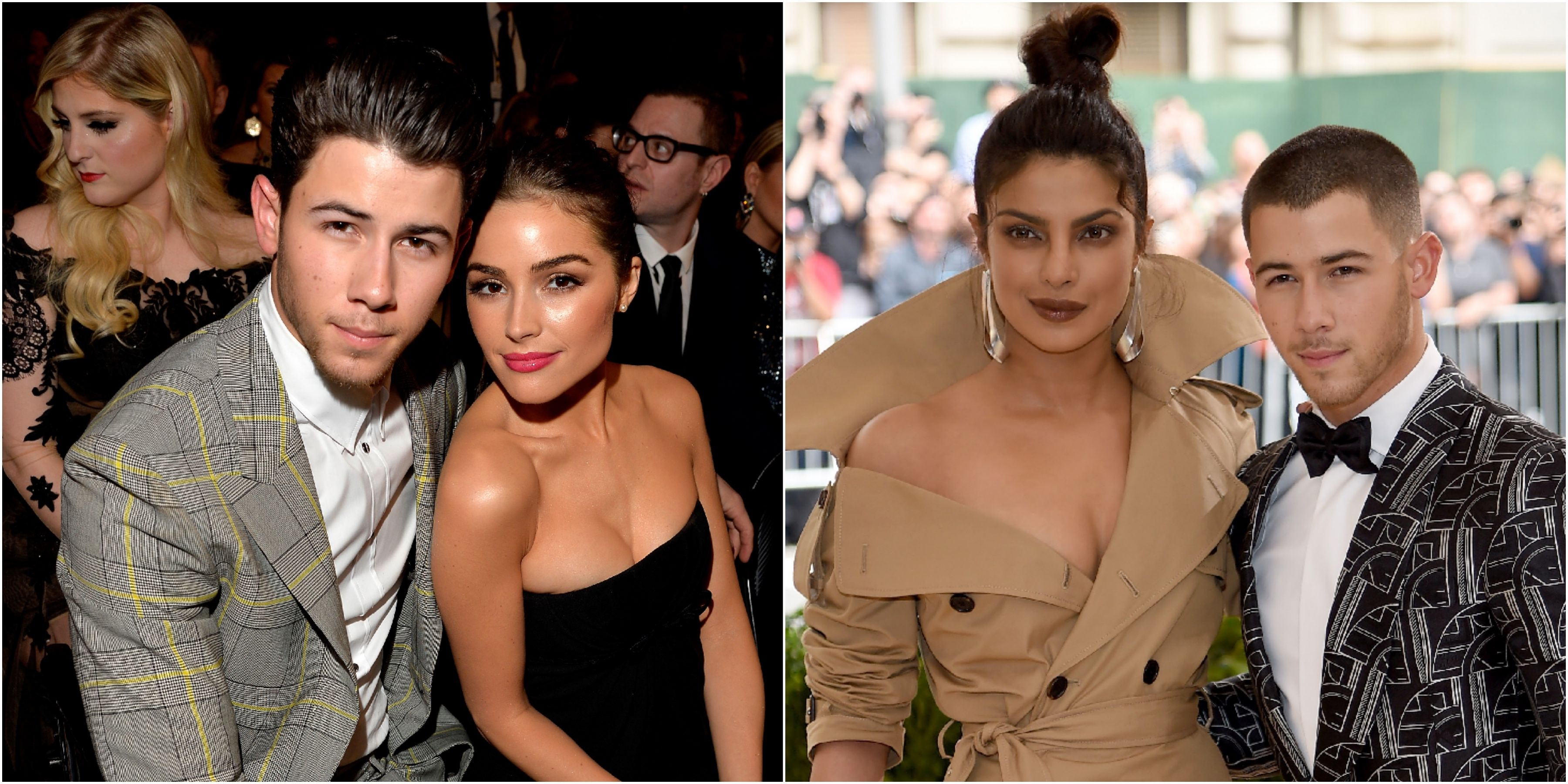 nick jonas priyanka chopra and olivia culpo