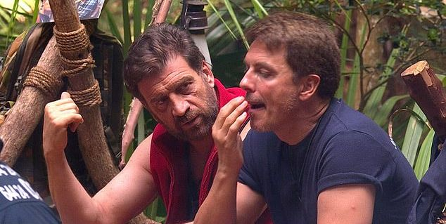 People aren't happy with I'm A Celeb's Nick Knowles after last night's run-in with John Barrowman