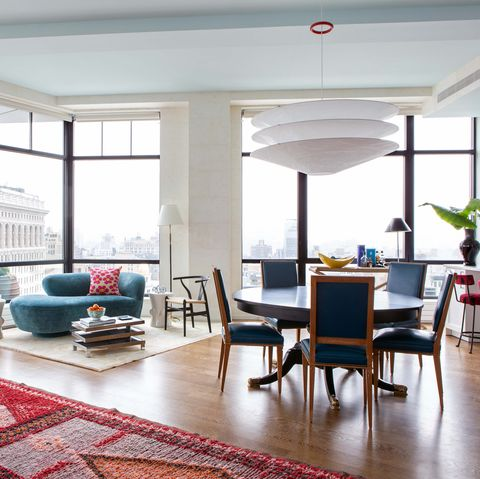 Living room, Room, Furniture, Interior design, Property, Building, Floor, Coffee table, House, Table,