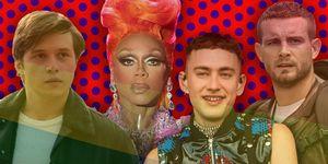 Nick Robinson, Rupaul, Olly Alexander, Nico Tortorella, LGBTQ shows