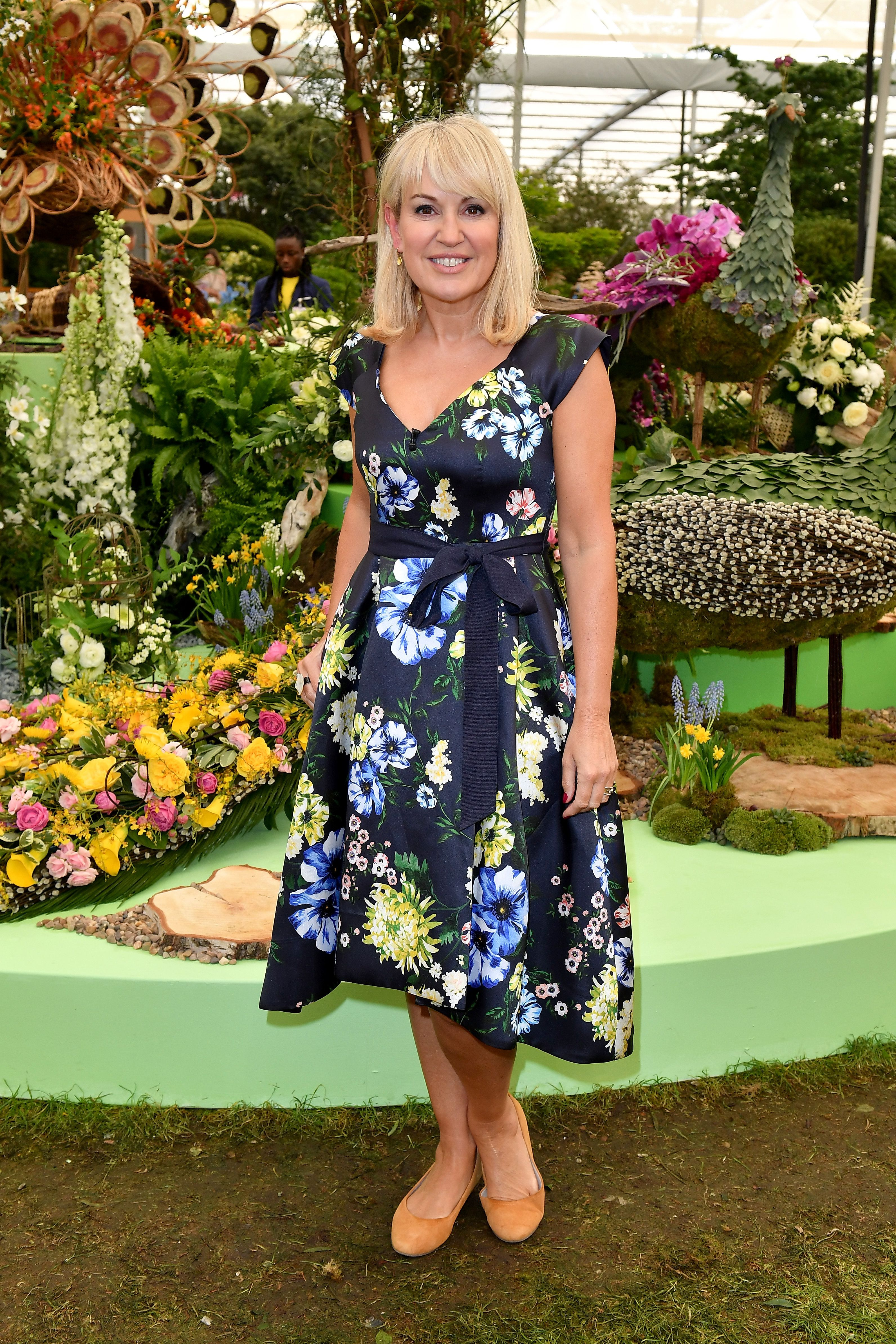 Tour Chelsea Flower Show presenter Nicki Chapman's garden at her West London home