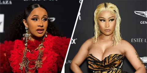 Image result for cardi b and nicki beef