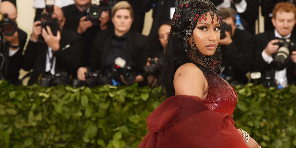 Nicki Minaj Is Naked And Bedazzled On Her New Album Cover -5796