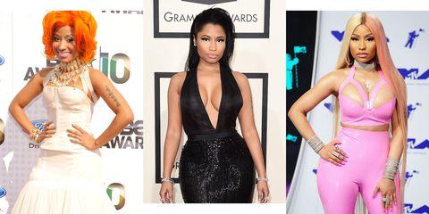 b92351f51e8a 30 Photos Showing Nicki Minaj s Transformation